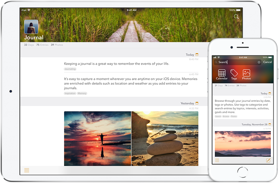 Tinkerbuilt releases Written Down - New Journaling iPhone and iPad App Image